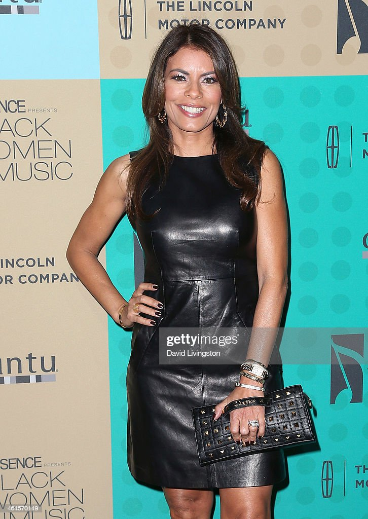 Actress Lisa Vidal attends Essence Magazine's 5th Annual Black Women in Music event at 1 OAK on January 22, 2014 in West Hollywood, California.