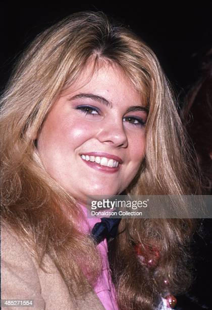 Actress Lisa Whelchel from the TV show 'The Facts Of Life' attends an event in December 1981 in Los Angeles California