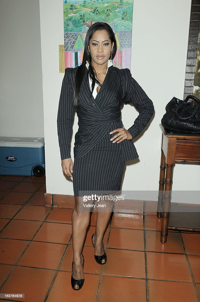 Actress Lisa Wu attends the Jazz in the Gardens Women's Impact Conference and Luncheon at Shula's Hotel & Gold Club on March 15, 2013 in Miami Lakes, Florida.
