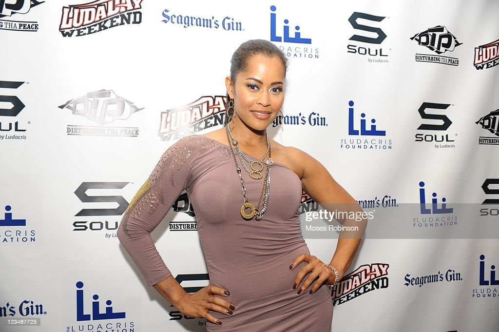 Actress Lisa Wu Hartwell attends the 2011 LudaDay Weekend on September 2 2011 in Atlanta Georgia