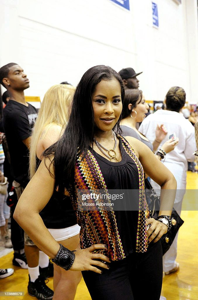 Actress Lisa Wu Hartwell attends the 2011 LudaDay Weekend on September 4 2011 in Atlanta Georgia