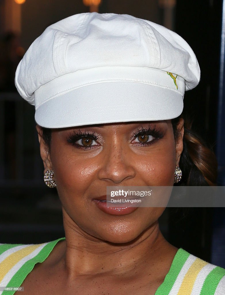 Actress LisaRaye McCoy attends the premiere of Open Road Films' 'A Haunted House 2' at Regal Cinemas LA Live on April 16 2014 in Los Angeles...