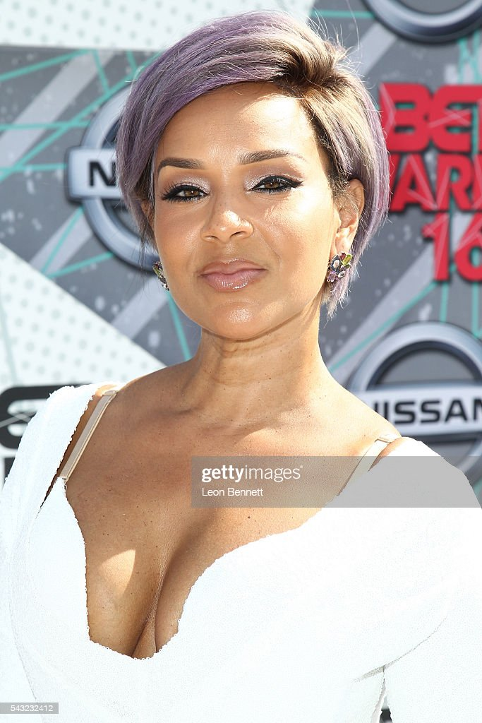 Actress <a gi-track='captionPersonalityLinkClicked' href=/galleries/search?phrase=LisaRaye+McCoy&family=editorial&specificpeople=198881 ng-click='$event.stopPropagation()'>LisaRaye McCoy</a>-Misick attends the Make A Wish VIP Experience at the 2016 BET Awards on June 26, 2016 in Los Angeles, California.