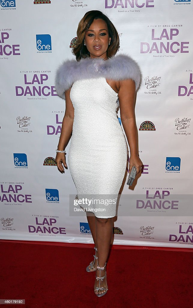 Actress LisaRaye McCoy-Misick attends the pemiere of 'Lap Dance' at ArcLight Cinemas on December 8, 2014 in Hollywood, California.