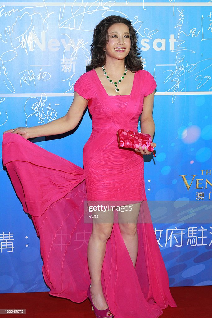Actress Liu Xiaoqing attends the 2013 Huading Awards ceremony at The Venetian on October 7, 2013 in Macau, Macau.