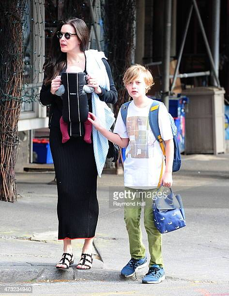 Actress Liv Tyler and Milo are seen walking in SoHo on May 13 2015 in New York City