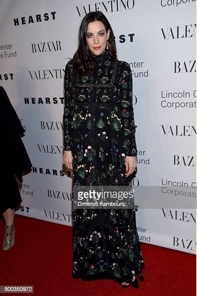 Actress Liv Tyler attends an evening honoring Valentino at Lincoln Center Corporate Fund Black Tie Gala on December 7 2015 in New York City