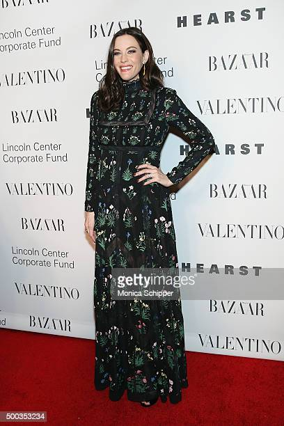 Actress Liv Tyler attends 'An Evening Honoring Valentino' Lincoln Center Corporate Fund Gala Inside Arrivals at Alice Tully Hall at Lincoln Center on...