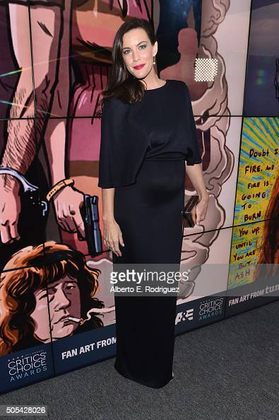 Actress Liv Tyler attends the 21st Annual Critics' Choice Awards at Barker Hangar on January 17 2016 in Santa Monica California