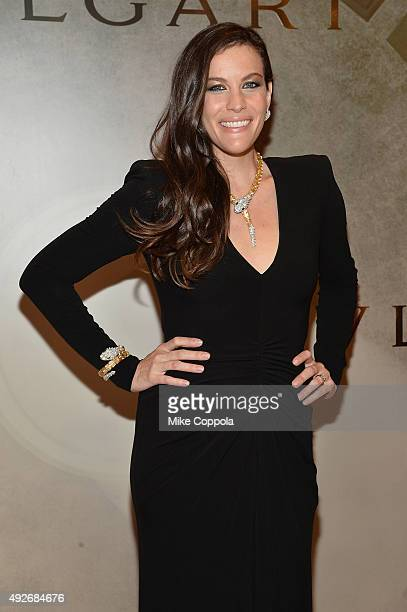 Actress Liv Tyler attends the BVLGARI ROME Eternal Inspiration Opening Night on October 14 2015 in New York City