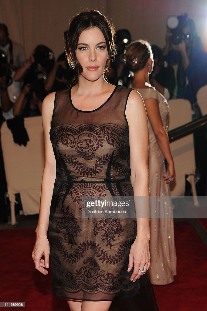 Actress Liv Tyler attends the Costume Institute Gala Benefit to celebrate the opening of the 'American Woman: Fashioning a National Identity' exhibition at The Metropolitan Museum of Art on May 3, 2010 in New York City.