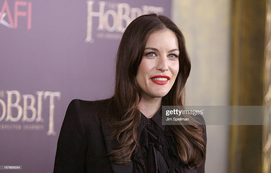 Actress Liv Tyler attends 'The Hobbit: An Unexpected Journey' premiere at the Ziegfeld Theater on December 6, 2012 in New York City.