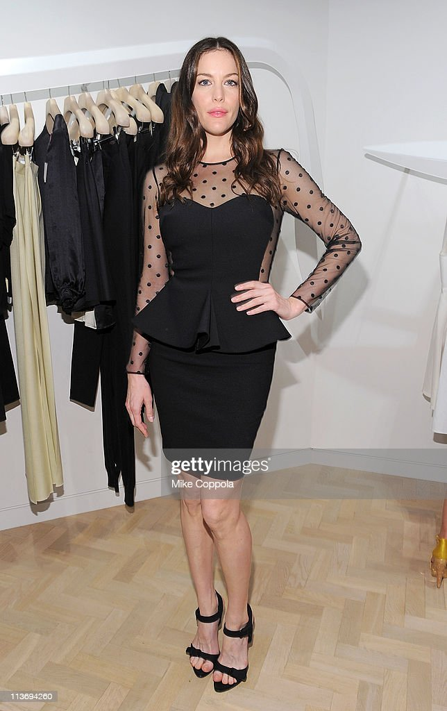 Actress Liv Tyler attends the launch of the new Stella McCartney boutique at Saks Fifth Avenue on May 4, 2011 in New York City.