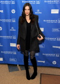 Actress Liv Tyler attends 'The Ledge' Premiere at the Eccles Center Theatre during the 2011 Sundance Film Festival on January 21 2011 in Park City...