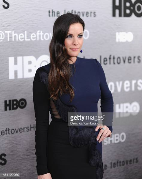 Actress Liv Tyler attends 'The Leftovers' premiere at NYU Skirball Center on June 23 2014 in New York City