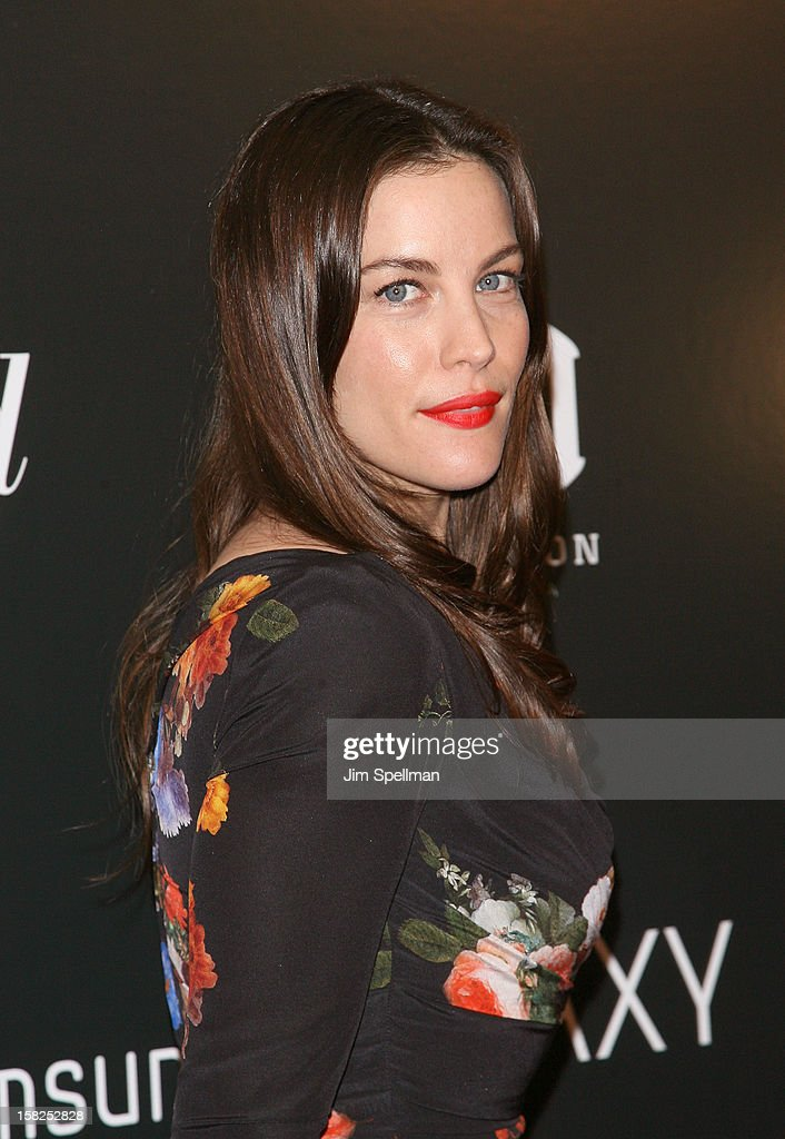 Actress Liv Tyler attends The Weinstein Company with The Hollywood Reporter, Samsung Galaxy & The Cinema Society screening of 'Django Unchained' at the Ziegfeld Theatre on December 11, 2012 in New York City.