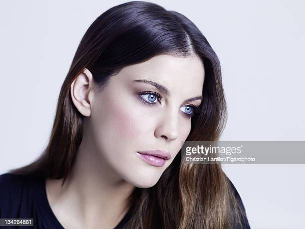 Actress Liv Tyler is photographed for Madame Figaro on February 13 2010 in Paris France Figaro ID 100569007 Makeup by Givenchy CREDIT MUST READ...