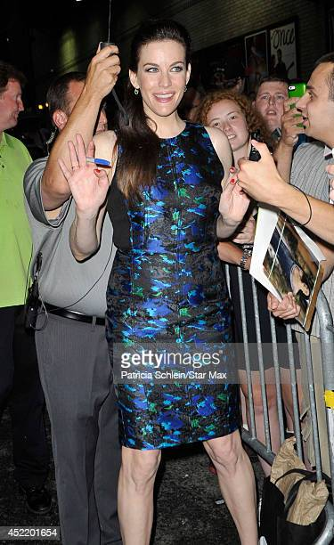 Actress Liv Tyler is seen on July 15 2014 in New York City