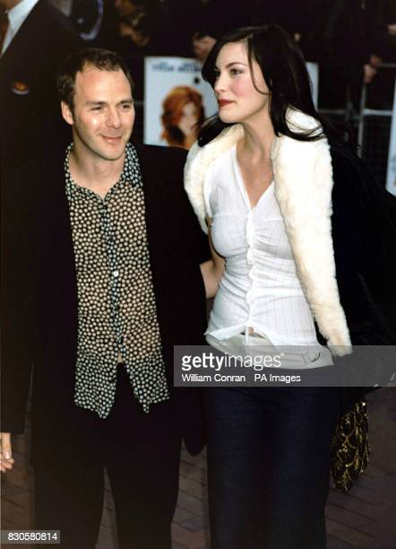 Actress Liv Tyler who stars in the film and the film's director Harald Zwart arriving at the world premiere of 'One Night At McCool's' at the Warner...