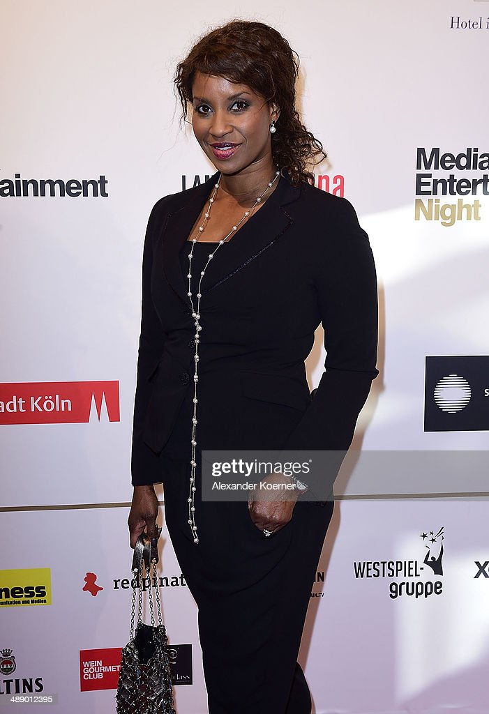 Actress Liz Baffoe attends the Media Entertainment Night at Hotel im Wasserturm on May 9, 2014 in Cologne, Germany.
