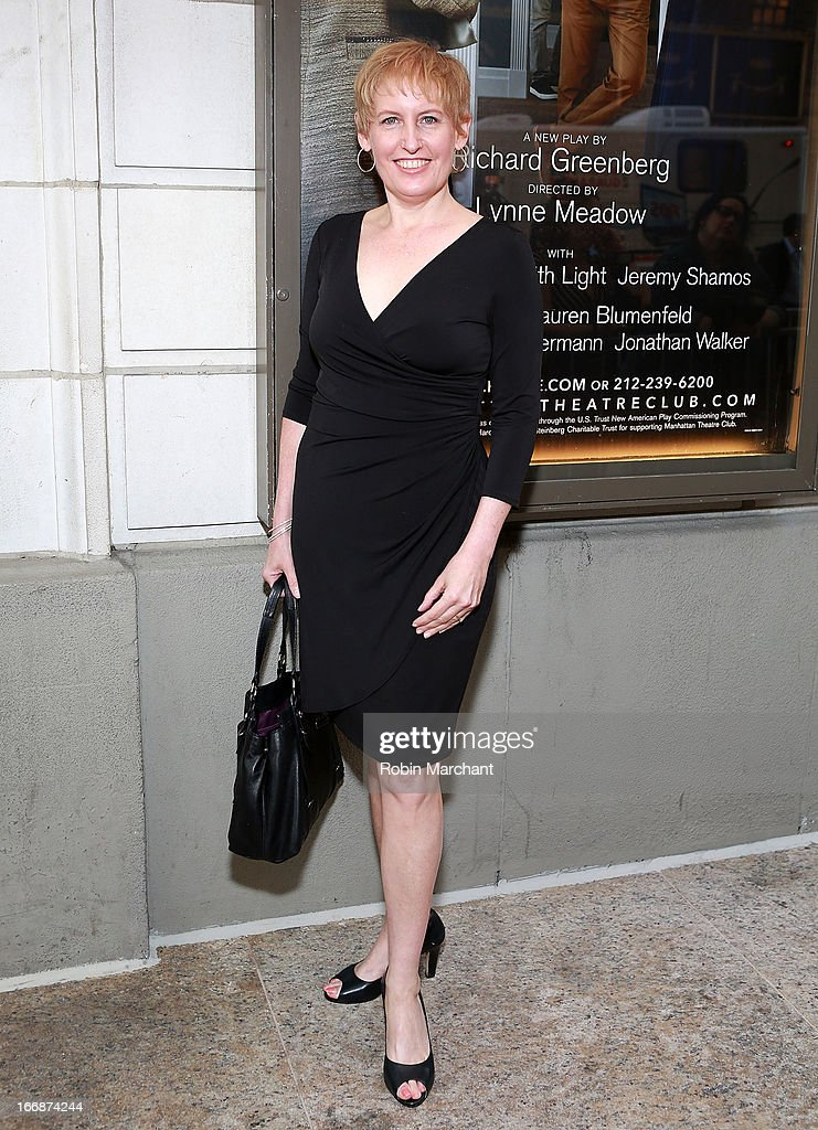Actress Liz Callaway attends the 'The Assembled Parties' opening night at Samuel J. Friedman Theatre on April 17, 2013 in New York City.