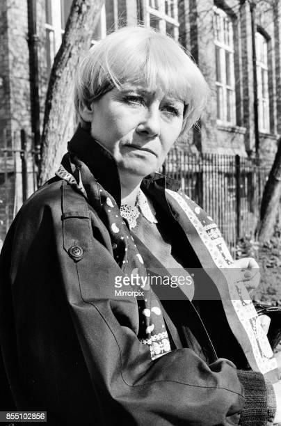 Actress Liz Dawn 10th April 1982