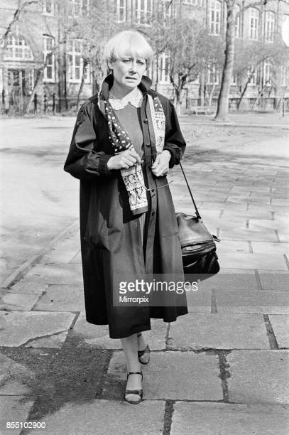 Actress Liz Dawn 10th April 1984