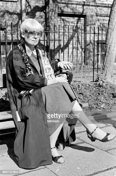 Actress Liz Dawn 10th April 1986