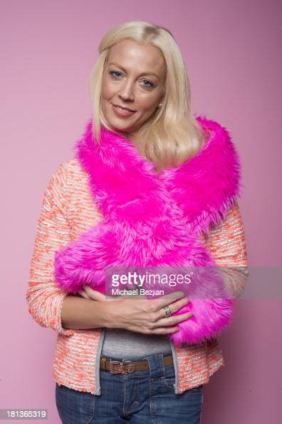 Actress Liz Fuller poses for a portrait at the Mark Kearney Group 'Iced Out' Luxury Emmy Suite on September 20 2013 in Los Angeles California