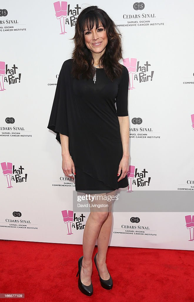 Actress Liz Vassey attends the 'What A Pair!' benefit concert at The Broad Stage on April 13, 2013 in Santa Monica, California.