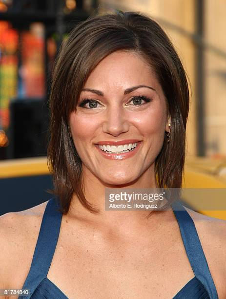 Actress Liz Wicker arrives to the Premiere of Sony Pictures' 'Hancock' at Grauman's Chinese Theatre on June 30 2008 in Hollywood California