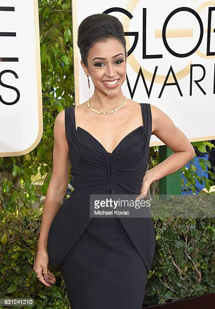 Actress Liza Koshy attends the 74th Annual Golden Globe Awards at The Beverly Hilton Hotel on January 8 2017 in Beverly Hills California