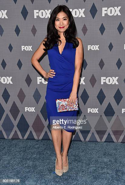 Actress Liza Lapira attends the FOX Winter TCA 2016 AllStar Party at The Langham Huntington Hotel and Spa on January 15 2016 in Pasadena California