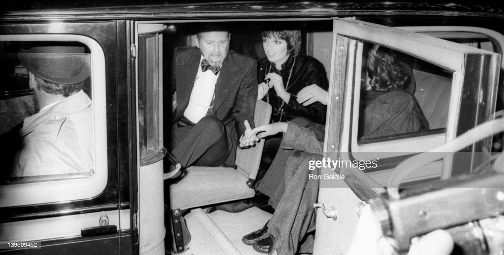 Actress Liza Minnelli and Bob Fosse attend the premiere of 'Lucky Lady' on December 11 1975 at the Ziegfeld Theater in New York City