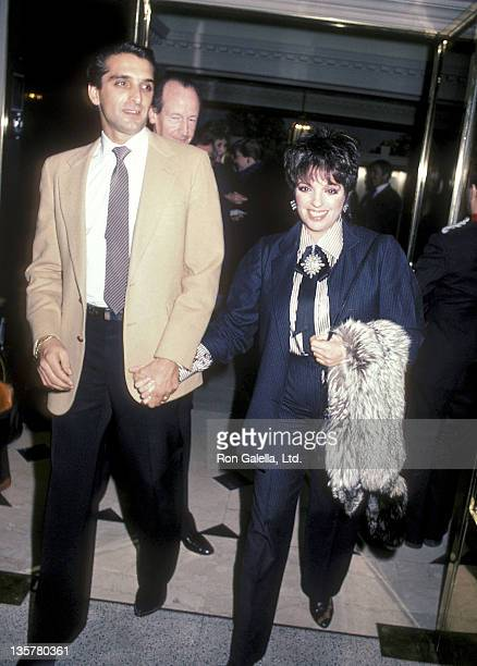 Actress Liza Minnelli and husband Mark Gero attend Marc Bohan of House of Dior Hosts a Luncheon for the First Annual Princess Grace Foundation's...