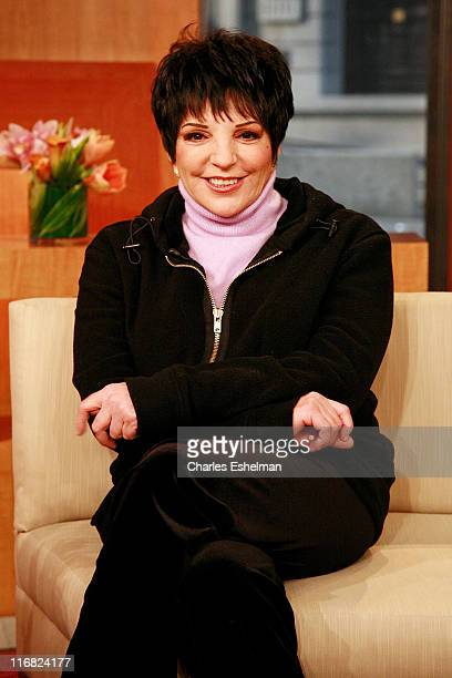 Actress Liza Minnelli visits FOX's 'The Morning Show with Mike and Juliet' at FOX studios on February 2 2009 in New York City