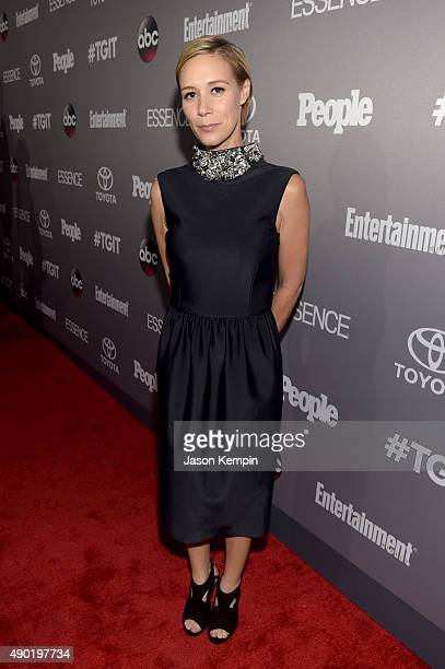 Actress Liza Weil attends the Celebration of ABC's TGIT Lineup presented by Toyota and cohosted by ABC and Time Inc's Entertainment Weekly Essence...