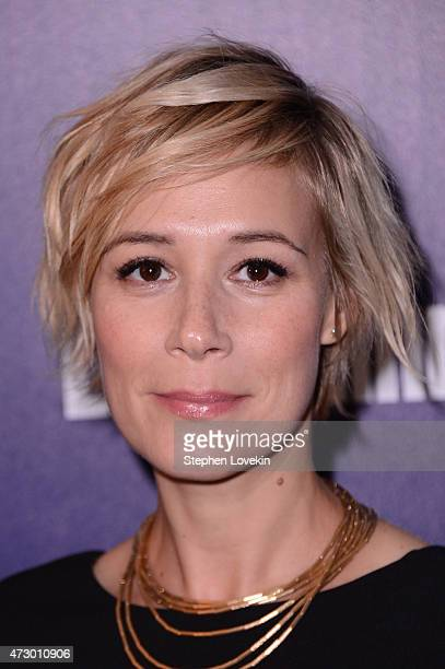 Actress Liza Weil attends the Entertainment Weekly and PEOPLE celebration of The New York Upfronts at The Highline Hotel on May 11 2015 in New York...