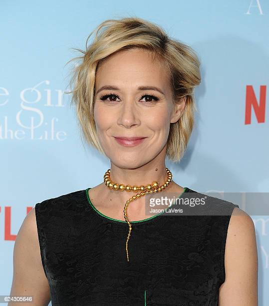Actress Liza Weil attends the premiere of 'Gilmore Girls A Year in the Life' at Regency Bruin Theatre on November 18 2016 in Los Angeles California
