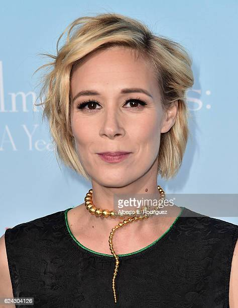 Actress Liza Weil attends the premiere of Netflix's 'Gilmore Girls A Year In The Life' at the Regency Bruin Theatre on November 18 2016 in Los...