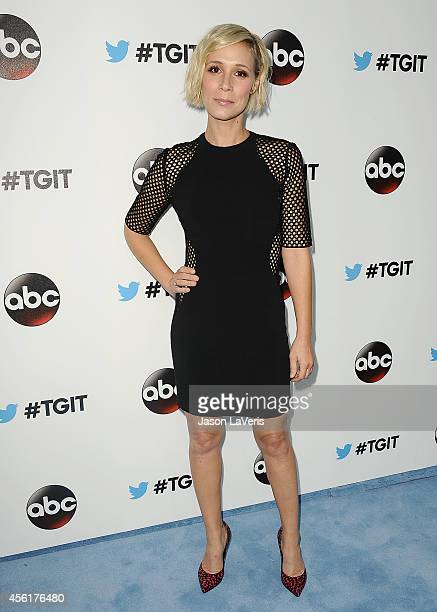 Actress Liza Weil attends the #TGIT premiere event hosted by Twitter at Palihouse Holloway on September 20 2014 in West Hollywood California