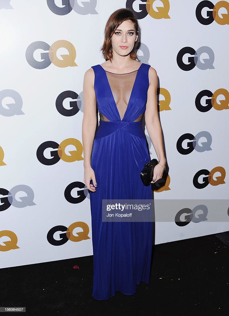 Actress Lizzy Caplan arrives at GQ Men Of The Year Party at Chateau Marmont on November 13, 2012 in Los Angeles, California.