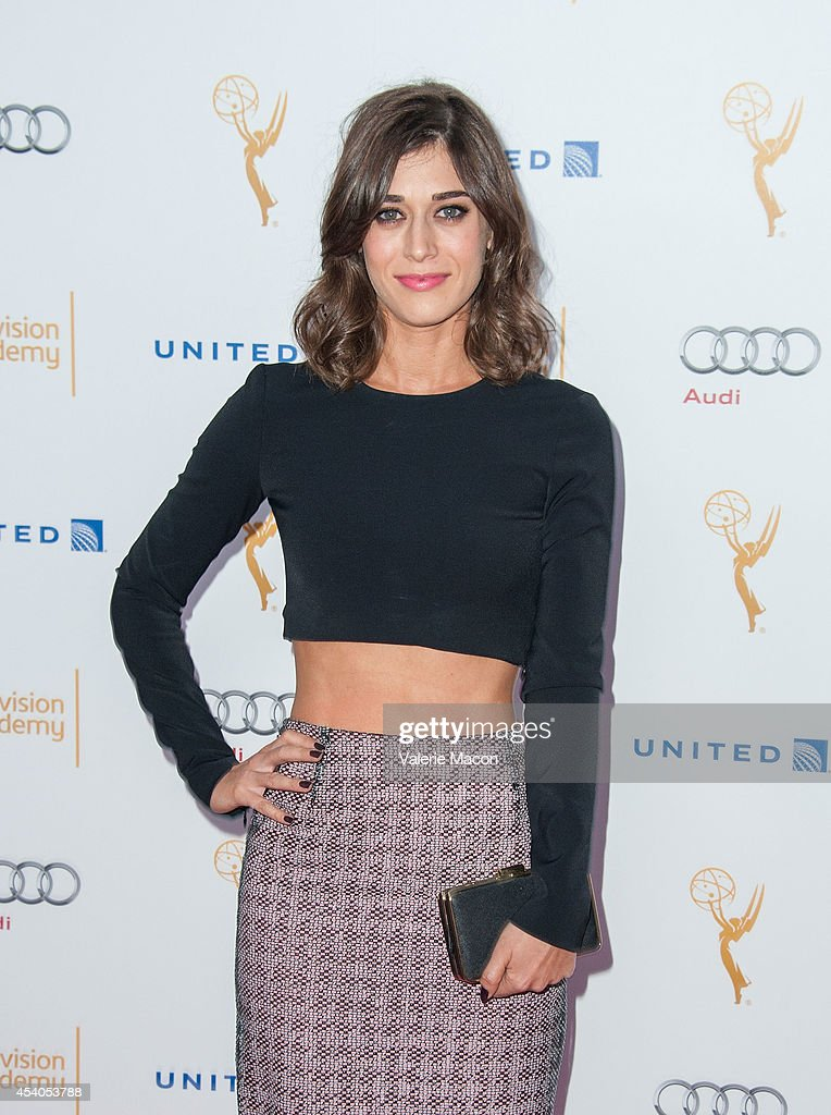 Actress <a gi-track='captionPersonalityLinkClicked' href=/galleries/search?phrase=Lizzy+Caplan&family=editorial&specificpeople=599560 ng-click='$event.stopPropagation()'>Lizzy Caplan</a> arrives at the Television Academy's 66th Annual Emmy Awards Performers Nominee Reception at Spectra by Wolfgang Puck at the Pacific Design Center on August 23, 2014 in West Hollywood, California.
