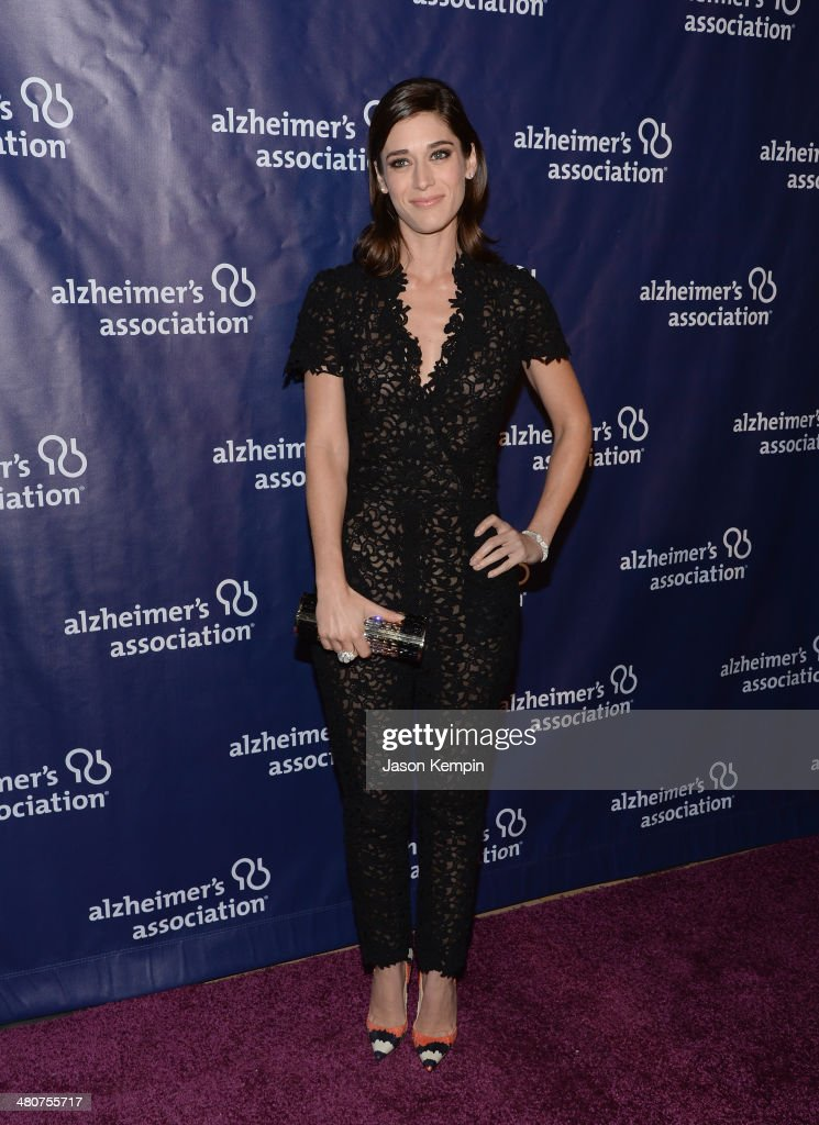 Actress Lizzy Caplan attends 22nd A Night At Sardi's at The Beverly Hilton Hotel on March 26, 2014 in Beverly Hills, California.