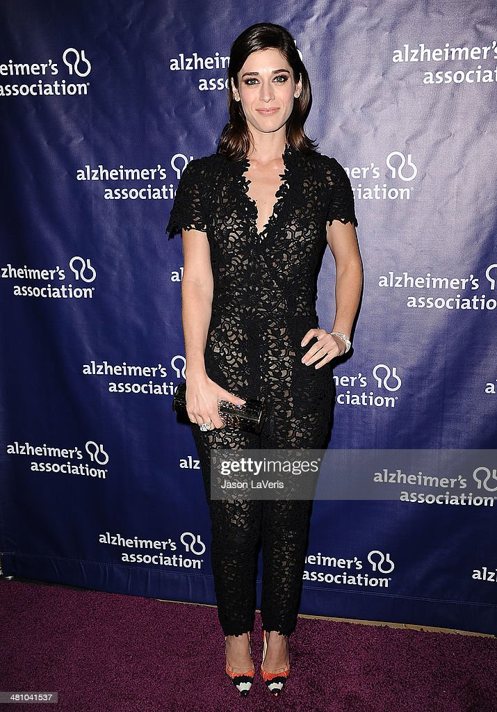 Actress Lizzy Caplan attends the 22nd 'A Night At Sardi's' at The Beverly Hilton Hotel on March 26, 2014 in Beverly Hills, California.