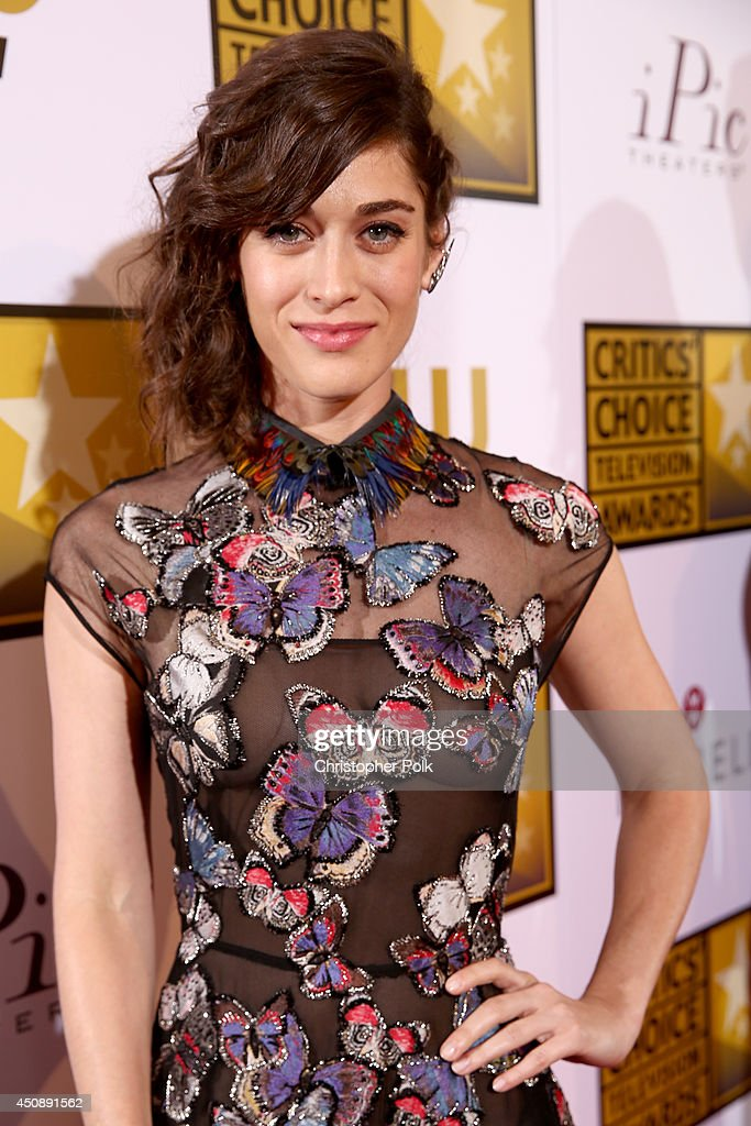 Actress Lizzy Caplan attends the 4th Annual Critics' Choice Television Awards at The Beverly Hilton Hotel on June 19, 2014 in Beverly Hills, California.