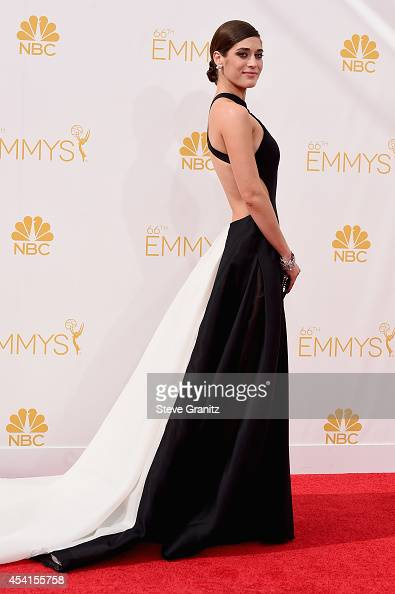 Actress Lizzy Caplan attends the 66th Annual Primetime Emmy Awards held at Nokia Theatre LA Live on August 25 2014 in Los Angeles California