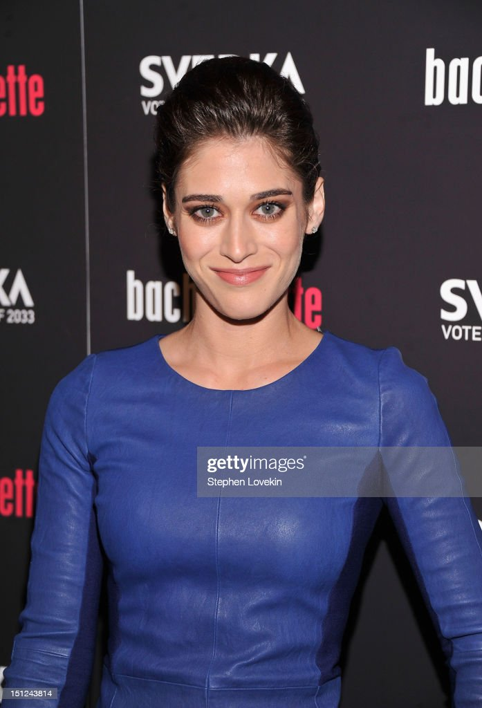 Actress Lizzy Caplan attends the 'Bachelorette' New York Premiere at Sunshine Landmark on September 4, 2012 in New York City.