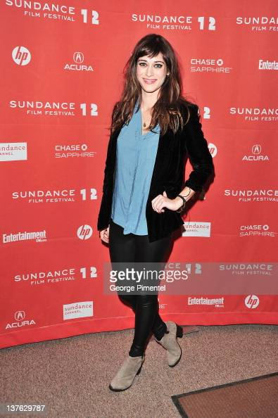 Actress Lizzy Caplan attends the 'Bachelorette' premiere during the 2012 Sundance Film Festival held at Eccles Center Theatre on January 23 2012 in...