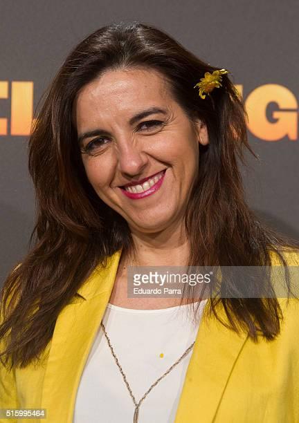 Actress Llum Barrera attends 'El pregon' premiere at Capitol cinema on March 16 2016 in Madrid Spain